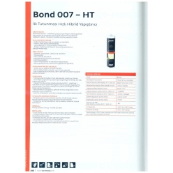 Bostik, Bond 007 – High Tac...