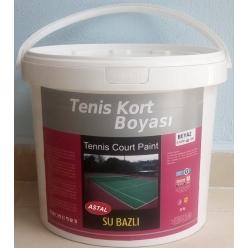 Beyaz,tenis Kortu Boyasi = ...