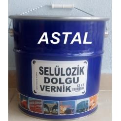 Selülozik Dolgu Vernik, 2,5...