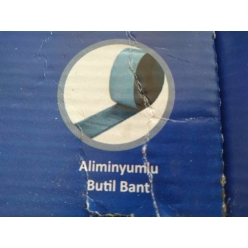 Aliminyumlu, Butil Bant, 5 ...
